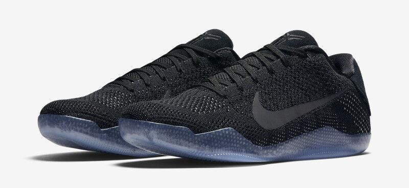 Nike hombre Kobe XI Elite Low negro 7 tamaño 7 negro nuevo 737691