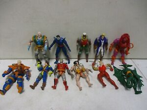 Toy-Biz-Marvel-and-X-Men-Assorted-Action-Figure-Lot