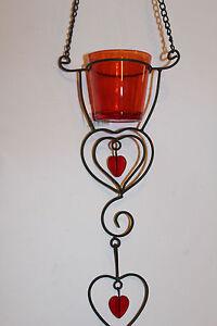 Details Zu Windlicht Teelicht Hängen Deko Herz Muttertag Valentinstag Geschenk Weihnachten
