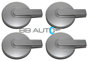 NEW-2006-2010-HUMMER-H3-H-3-16-034-WHEEL-HUB-CENTER-CAPS-SET-of-4-SILVER-COVERS