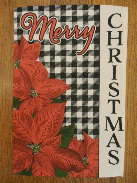 "Santa Sparkle Christmas Garden Flag by Evergreen Holiday Banner 12.5/"" x 18/"""
