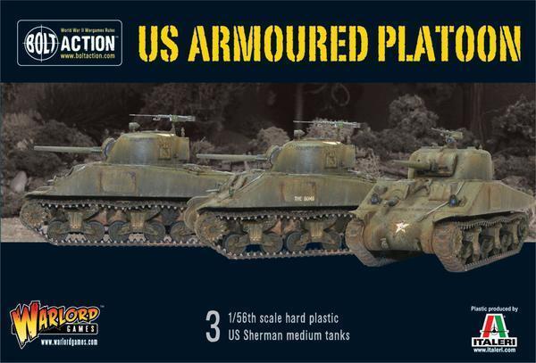 Us Armato Plotone - Bolt Azione - Warlord Games - 28MM Plastica