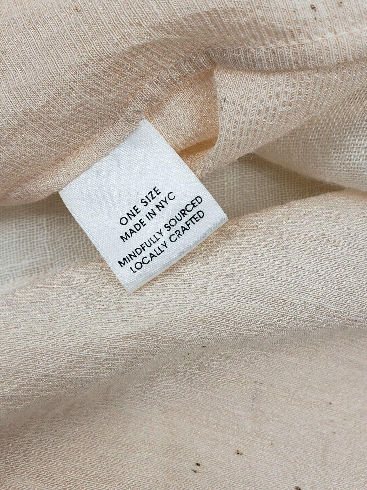 Pondicherie Sita Tie Dress One Size Blush Silk Or… - image 8