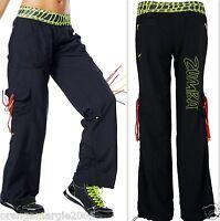 Zumba Fitness Dance Samba Cargo Capri Pants Harrods Uk Convention Z1b00147 S M L