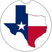 Texas Flag Car Coaster - Car Cup Holder Coaster
