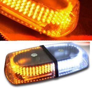 240 LED Amber White Safety Warning Flashing Strobe Light ...