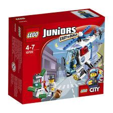LEGO ® Juniors persecuzione 10720 con la polizia elicottero NUOVO OVP NEW MISB NRFB