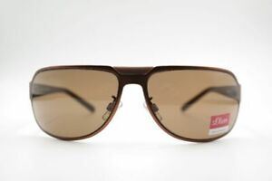 S-Oliver-4271-c2-65-15-Braun-Oval-Sunglasses-New