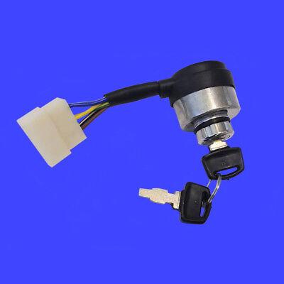 Apollo Ignition Switch for ETQ Changfa Xingyue Diesel Generator 5 Blade Key