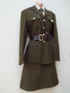 Auxiliary-Territorial-Service-ATS-WW2-Re-enactment-Woman-039-s-Army-Uniform-Jacket