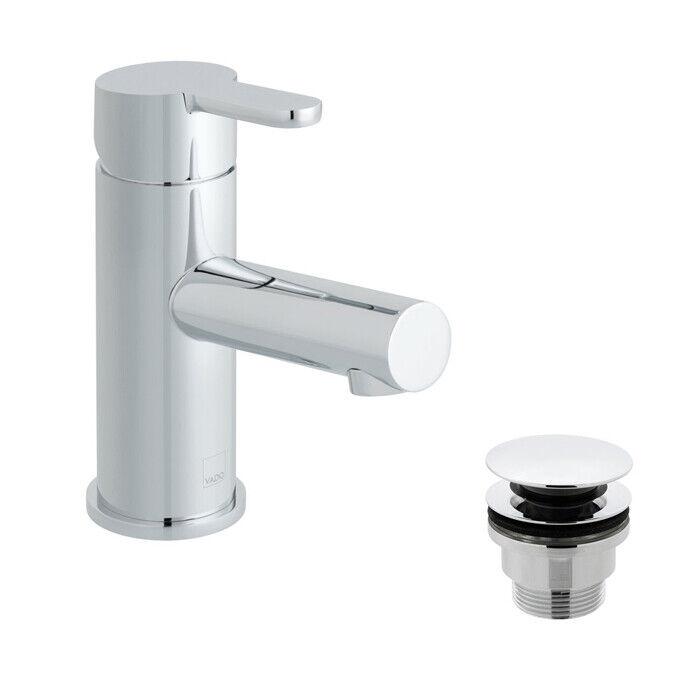 Vado Sense Chrome mono bassin mitigeur avec Déchets-SEN-100 CC-C P
