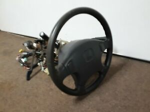 97-Honda-CRV-Steering-Column-With-Wheel-And-Key-Automatic