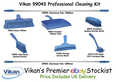 Household Supplies & Cleaning Constructive Vikan 9904n Professional Cleaning Kit Sweep Scrub Wash Superior Hygiene Outstanding Features