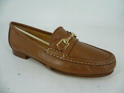 Elia.b Ladies Siena Gold Moccasin Shoes Uk 6.5 Eu 40 Ln49 17 Women's Shoes