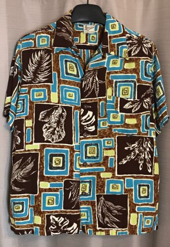 Vintage 1940's CATALINA California TIKI HAWAIIAN S