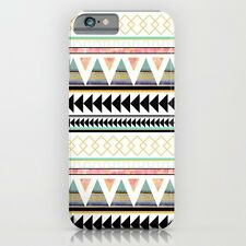 Society6 Aztec 3 Slim Case For Apple Iphone 5 5S Society 6 Brand NEW