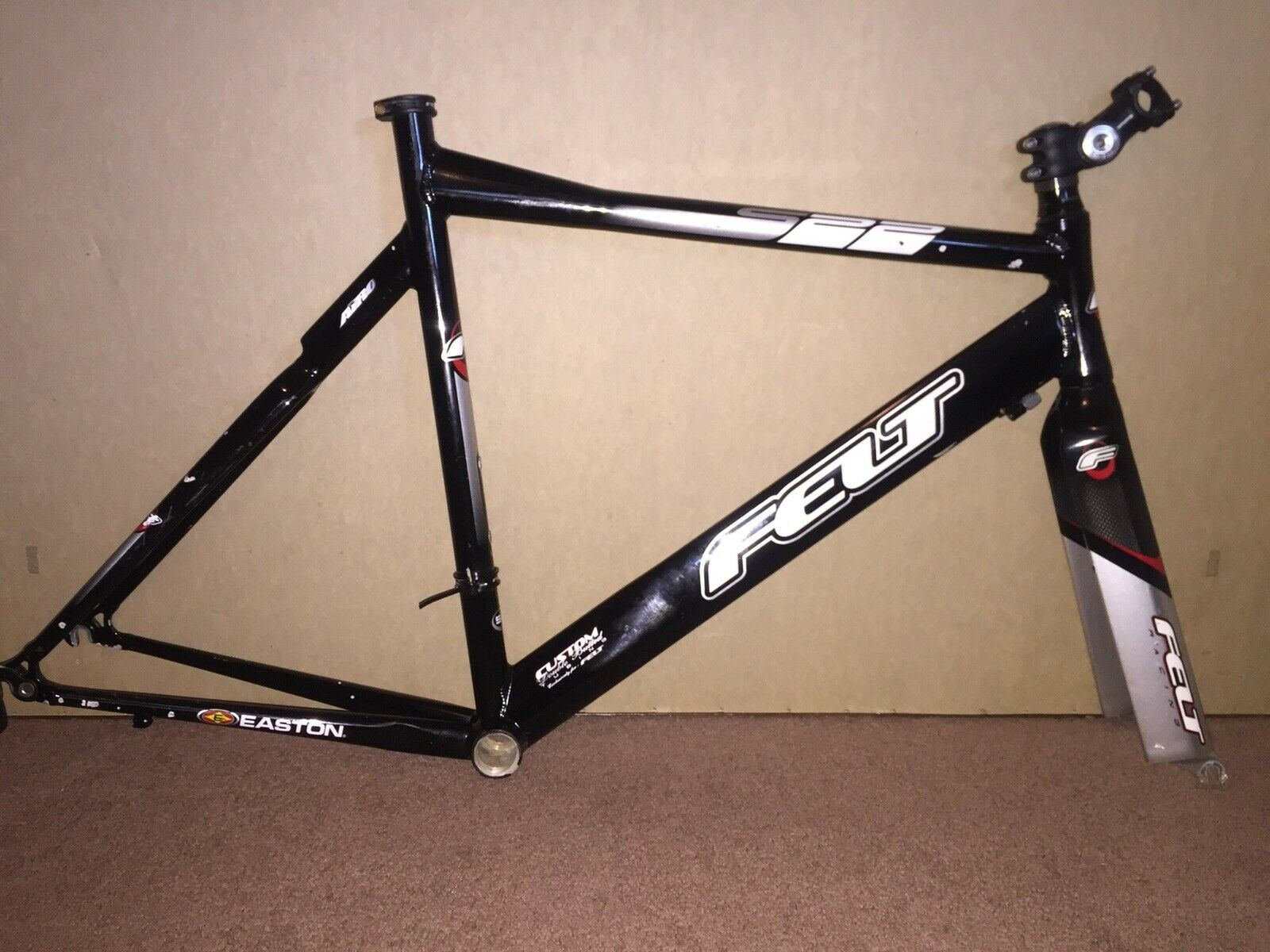 Felt S22 S-22 Triathlon Tri Cycling Frame Frameset 54cm 650c 26 Inch Wheels Used