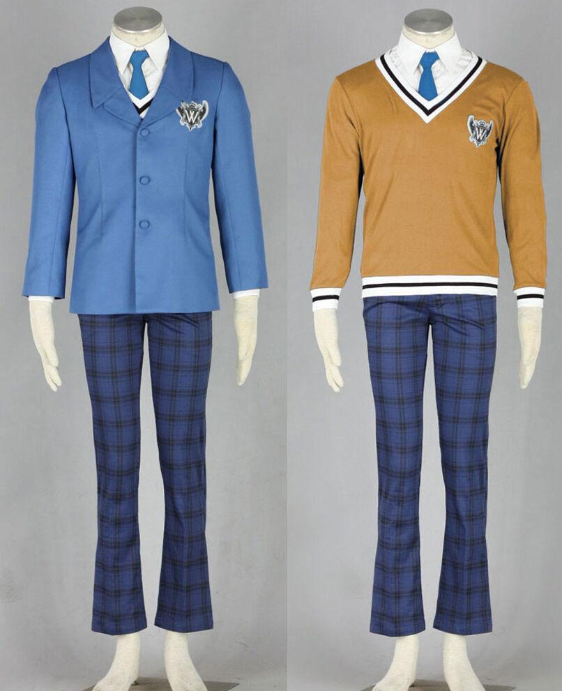 Axis Powers Powers Powers Hetalia APH World W academy Uniform Cosplay Kostüm Anzug costume men | Qualität und Quantität garantiert  8f7181