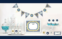 Nautical Ocean Theme Baby Shower Party Decorations Starter Kit