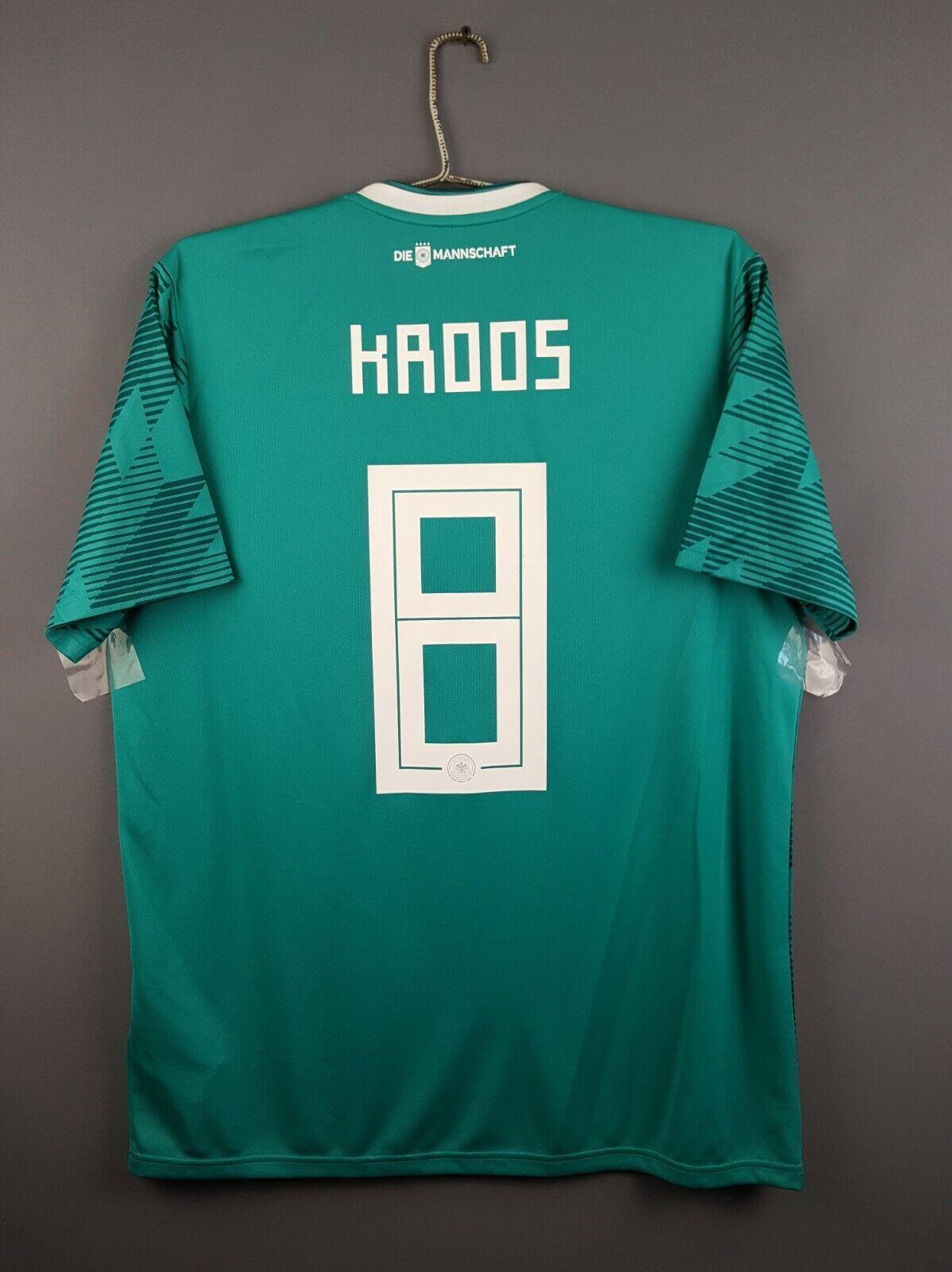 Camiseta de fútbol de Alemania 5 5 Kroos L 2019 Away Camiseta Adidas BR3144 ig93