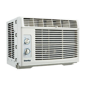 Danby-5000-BTU-Window-Air-Conditioner-Cools-up-to-150sqft-w-2-Fan-Speeds-White
