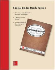 Experience Spanish, Looseleaf Student Edition by Amores (2014, Paperback)