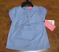 Isaac Mizrahi Baby Girls Blue Dress - Size 6 Months -