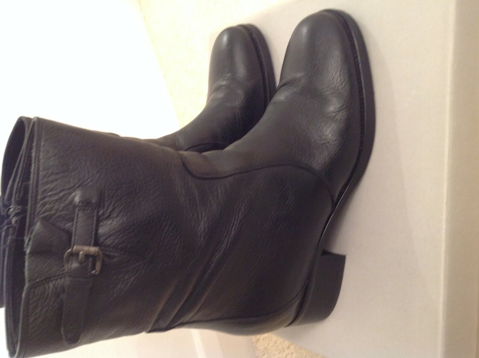 Carvela  black leather leather black ankle boots 39200f