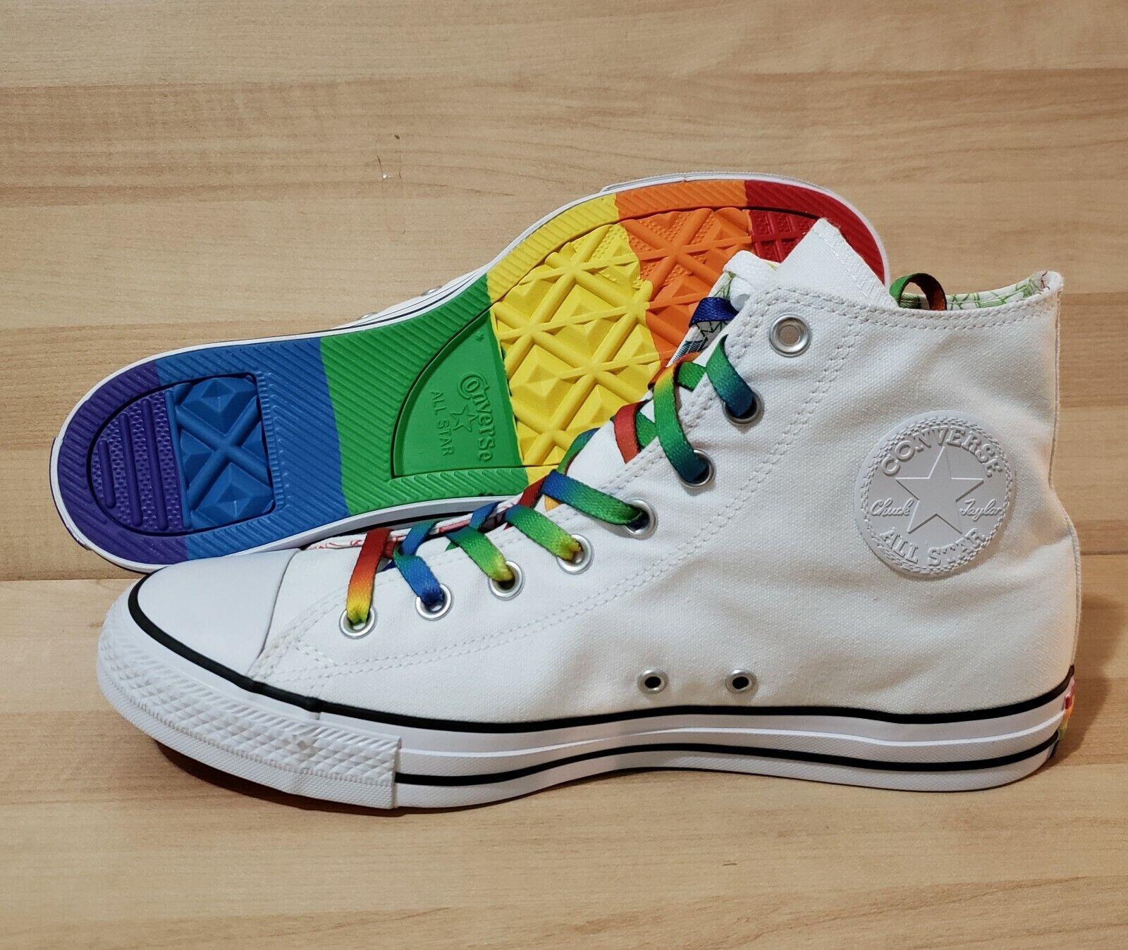 Conversione Tutte le  LGBT Gay Pride Dimensione 10 Rainbow Athletic scarpe 157375c Multi  economico