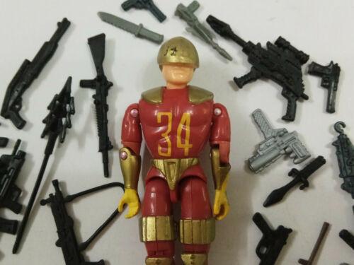 """3.75/"""" GI JOE LANARD IL SOLDATO Corps #31 con accessori 20pcs Rara Figura"""