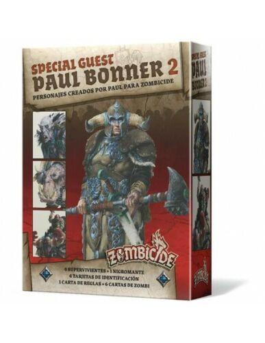 Zombicide Green Horde Castellano Special Guest Paul Bonner 2