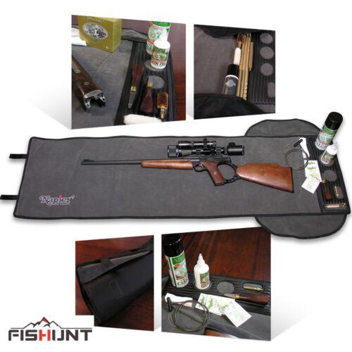 Napier Universale Pistola Pulizia Tappetino Rifle Fucile Carabina manutenzione Extra Lungo