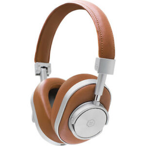 Master & Dynamic MW60 Wireless Bluetooth Leather Headphones Brown&Silver MW60S2