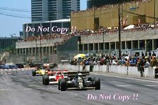 Elio De Angelis JPS Team Lotus 95T USA Grand Prix 1984 Photograph
