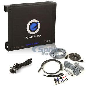 planet audio ac1200 2 1200w anarchy series 2 channel car amplifier amp kit ebay. Black Bedroom Furniture Sets. Home Design Ideas