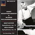 Beethoven: Symphony No.3; Bruckner: Symphony No. 8 (2012)