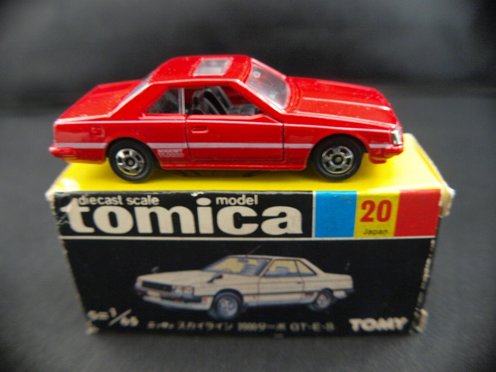 Tomica Tomy Japon n° 20 Nissan Skyline 2000 Turbo neuf en boîte 1 65 Mint in box