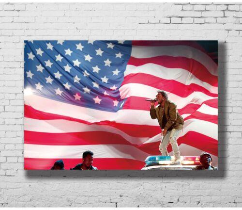 24x36 14x21 40 Poster Kendrick Lamar Hip Hop Recordingist Art Hot P-1298