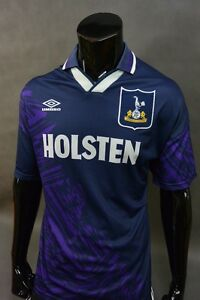 size 40 71f9e e999f Details about SPURS 1994-95 Umbro Tottenham Hotspur Away Shirt SIZE XL  (adults)
