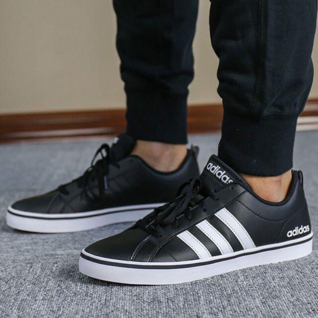 Adidas Herren Schuhe Modisch Sneakers Man Vs Pace 3 Streifen Schwarz Freizeit