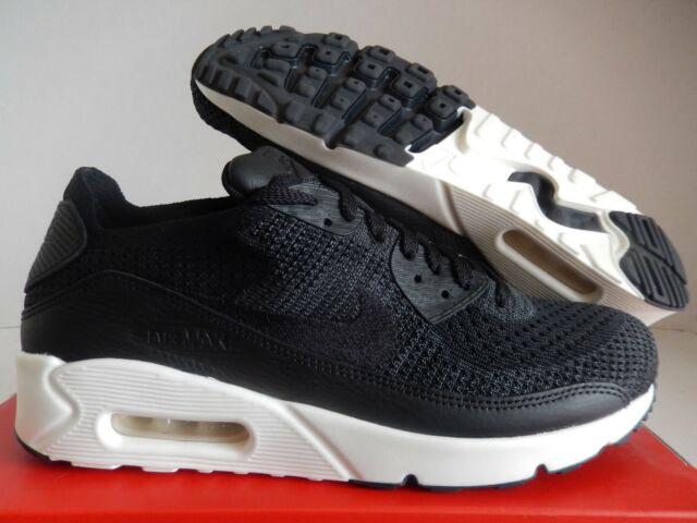 separation shoes bf4ab 1a64f Mens NikeLab Air Max 90 Flyknit 876320-001 Black/black Size 13
