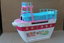 Barbie Sisters Cruise Ship Boat Yacht  w/Accessories Pink/White/Blue--RARE