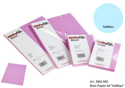 papel de carta 120g-din a4-azul claro Papel 3963045