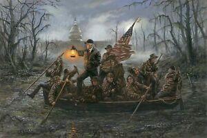 Trump-crossing-the-swamp-SIGN-4x6-magnet-Fridge-Toolbox-American-POLITICS-HILL