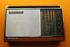 Grundig Concert Boy Radio Parts Repair External CASE Box