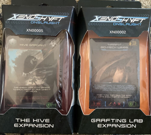 XenoShyft Onslaught The Hive And Grafting Lab Expansion Combo Pack NEW SEALED
