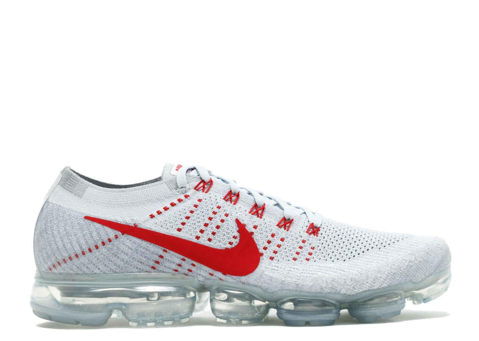 Nike Air VaporMax Red Flyknit OG University Red VaporMax Platinum Size 12.5. 849558-006 max 1 5c8e2a