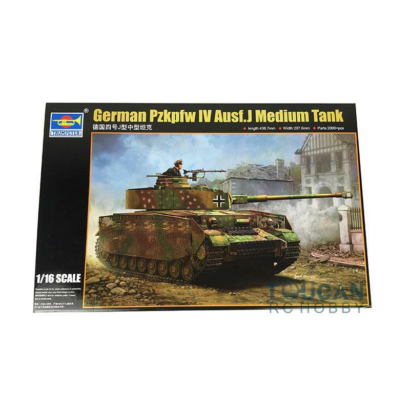 German Panzer Pzkpfw IV Aust.J Medium Tank Model Kit Trumpeter 00921 1 16 Scale