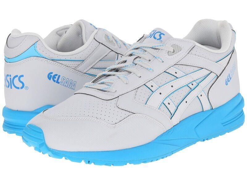 Men's ASICS Tiger Gel-Saga,  Grey Soft Grey, US Size 11.5