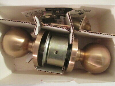 Schlage A10S ORB 612 Grade 2 Passage Round Knob Satin Bronze